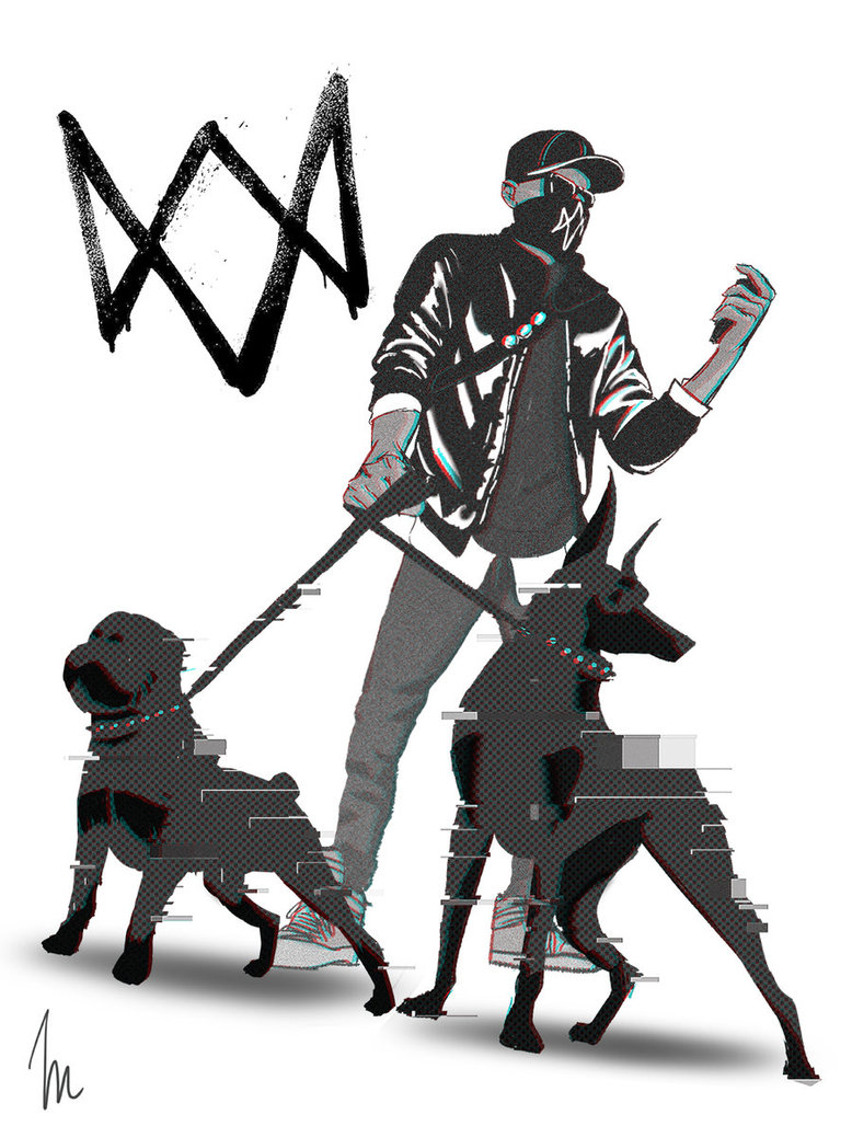 778x1028 Dogs In Watch Dogs 2 By Thesimplylexi