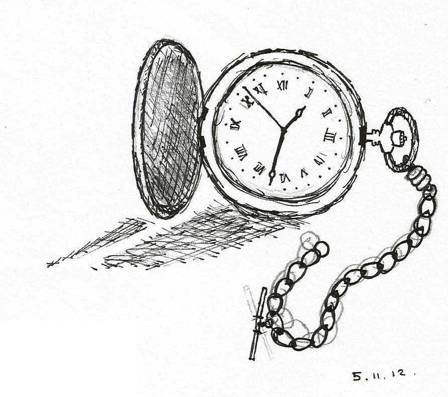 890x789 Pocket Watch By Gingerbaron