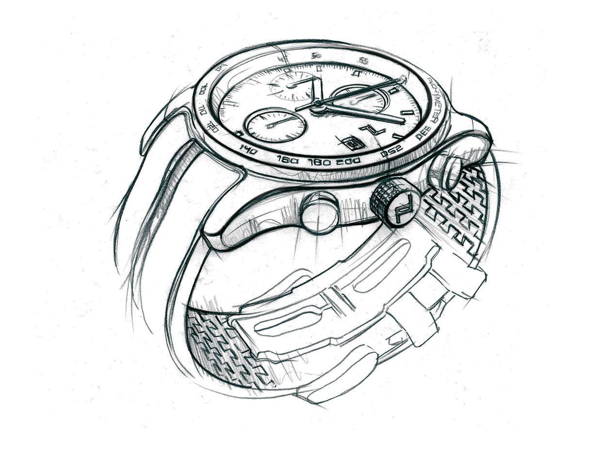 1233x925 Porsche Design Launches Timepieces Division