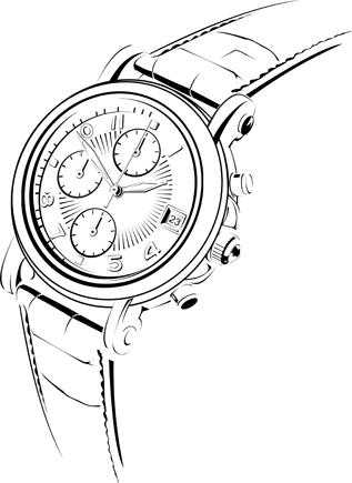 317x435 Wrist Watch Drawings Rolex Watch Drawing