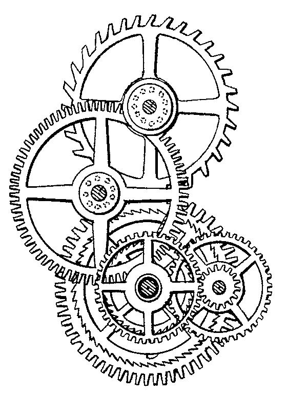 Watch Gears Drawing At Getdrawings Com