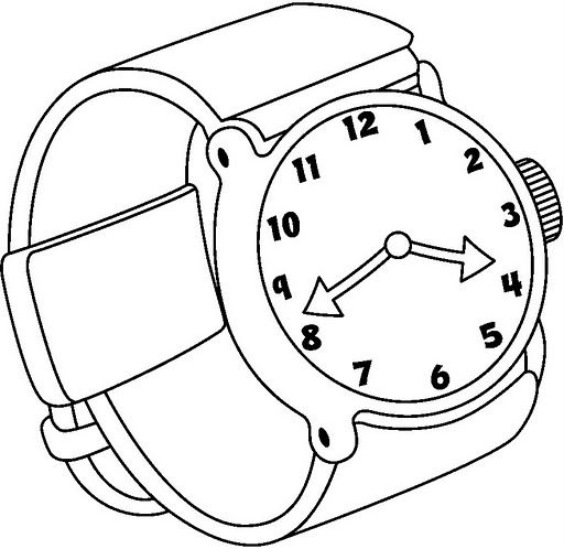 512x498 Image Result For Watch Line Drawing Willa's Wall
