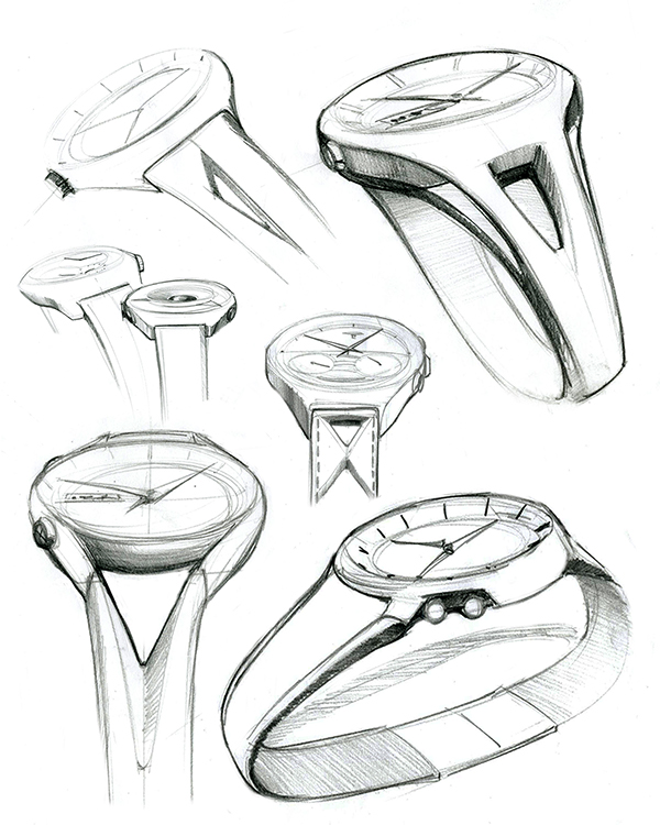 600x750 Watch Sketches On Behance Id Sketches, Behance