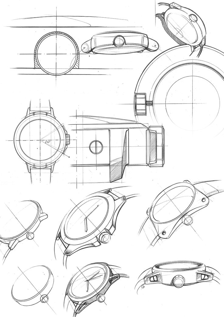 Watches Drawing