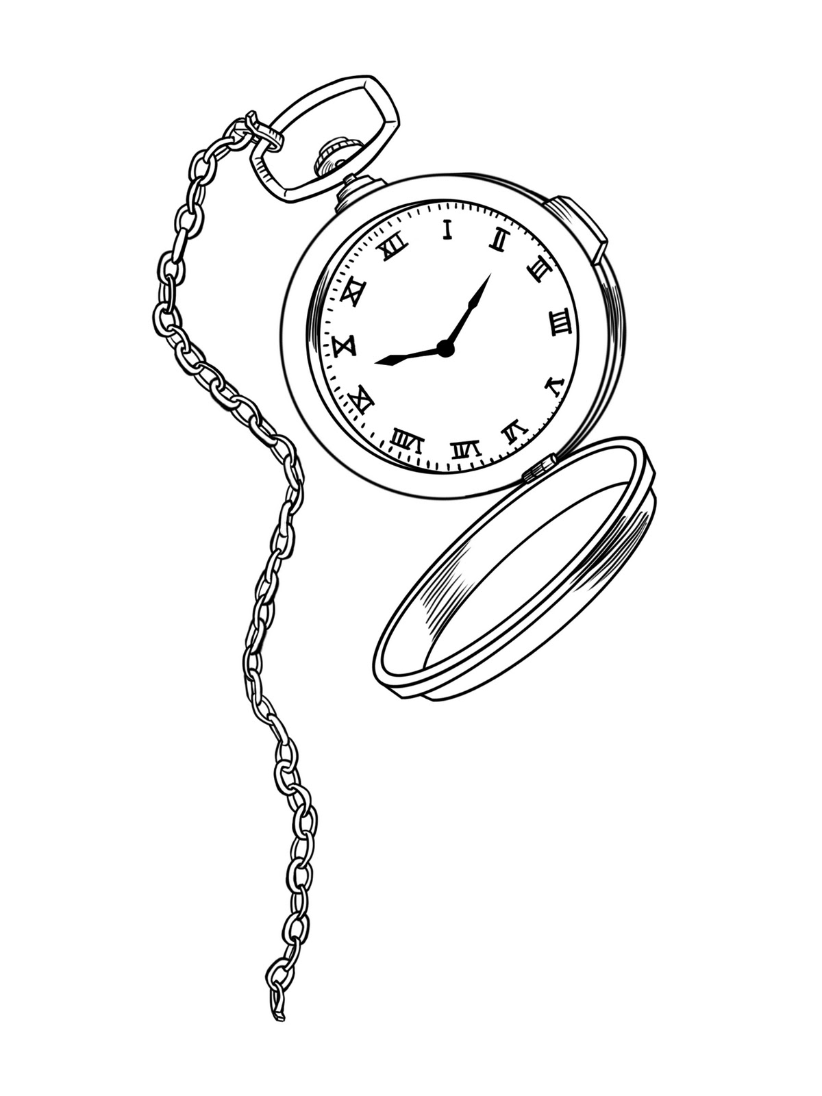 pocket at drawing com line getdrawings free for watches use watch steampunk personal