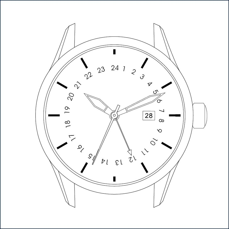945x945 Instruction Manual Avi 8 Watches