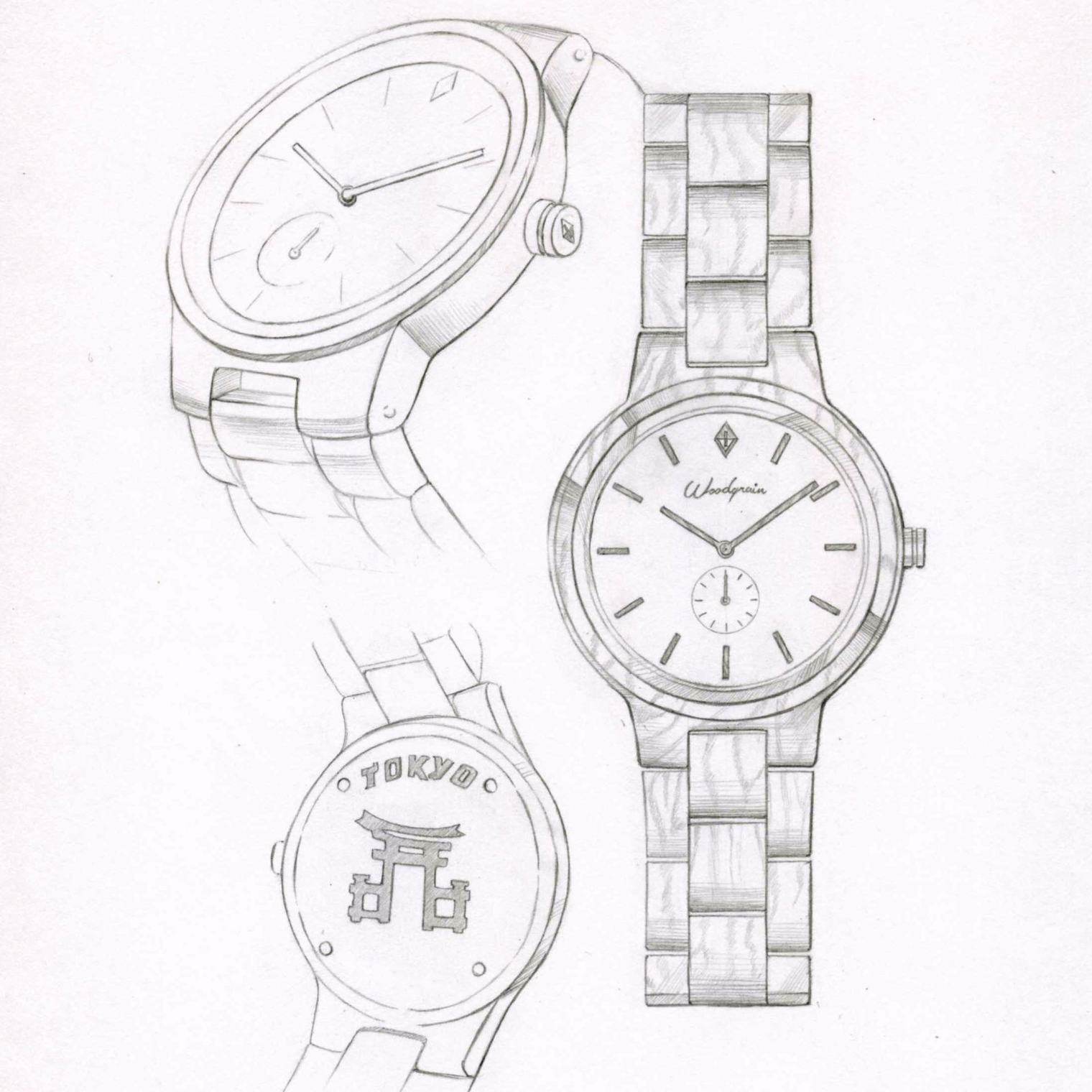 behance drawing on sketches gallery watches