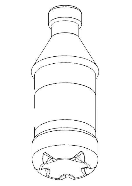 453x640 Plastic Bottle