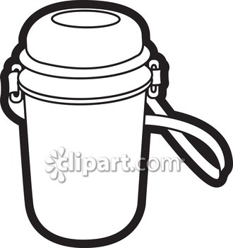 330x350 School Water Bottle Clipart Black And White Letters Format