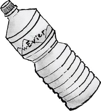 326x357 Bottle Of Water By Orialas