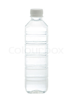 239x320 Drinking Water Bottle With Blank Label For Your Advertisement