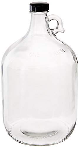 268x500 Home Brew Ohio Glass Water Bottle Includes 38 Mm Polyseal Cap, 1