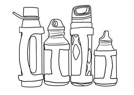 466x329 Handiwear (2 Pack), Water Bottle Carrier Grip