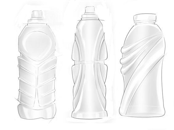 564x423 Single Use Water Bottle Concept By Kendra Schmiedeberg