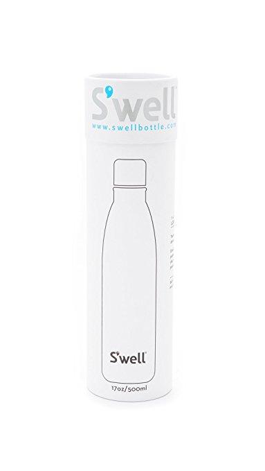 383x679 S'Well Women's Alligator 17oz Water Bottle, Navy, One