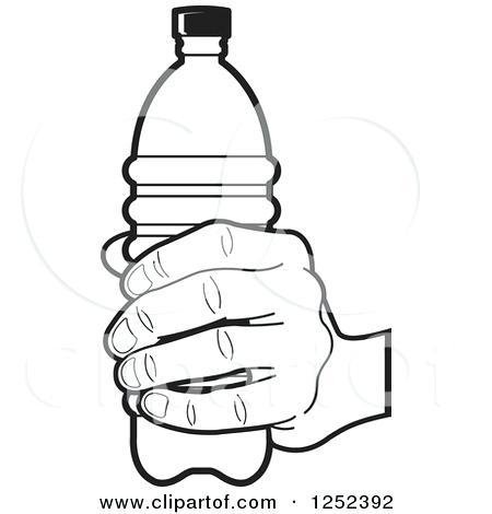450x470 Wonderful Surprising Water Bottle Coloring Page Image Kids