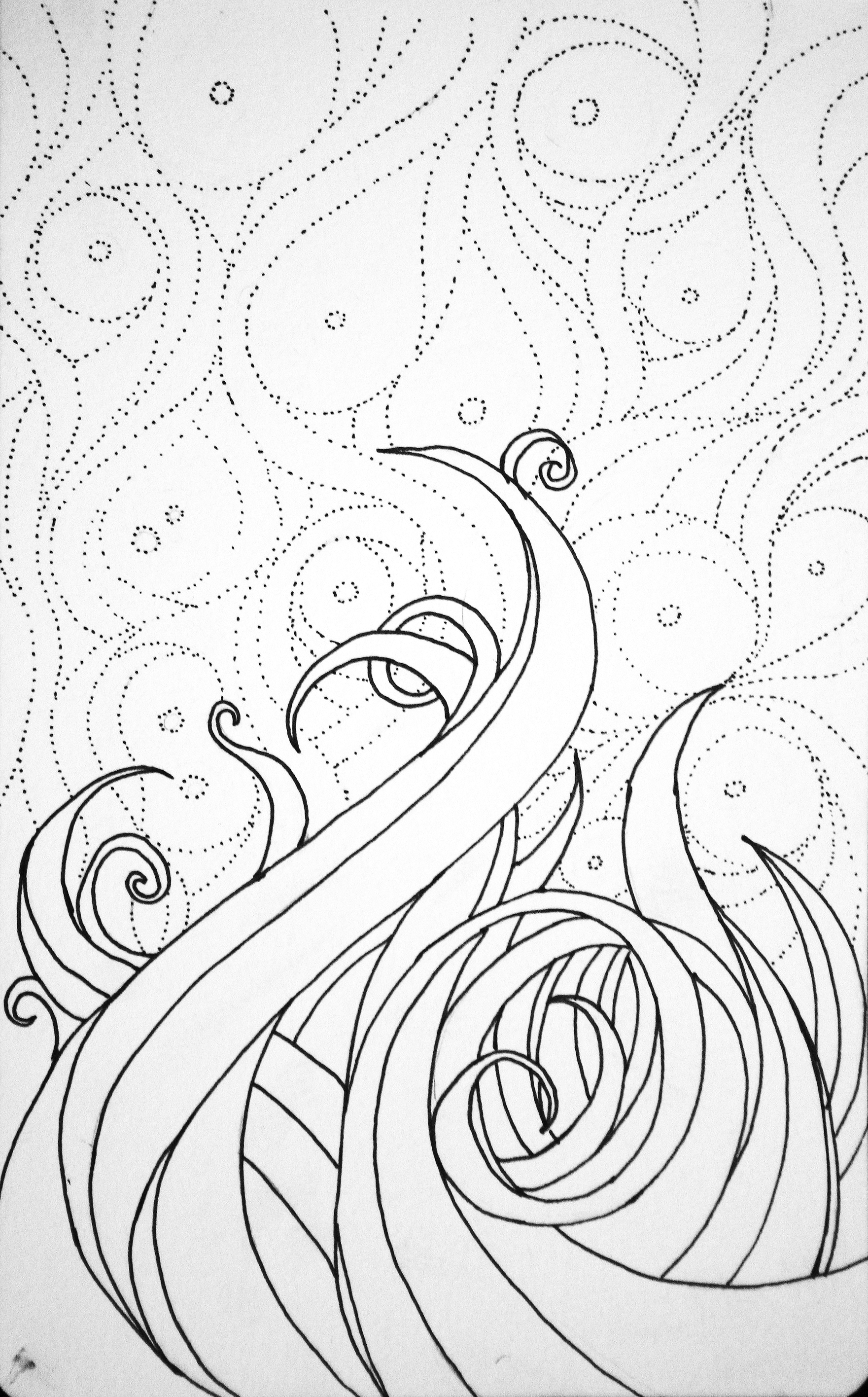1761x2833 New Drawingwatercolor To Be. Color Will Be Next. H Cowart 2012
