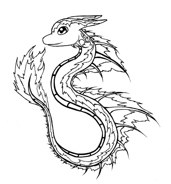water dragon drawing at getdrawings com free for personal use