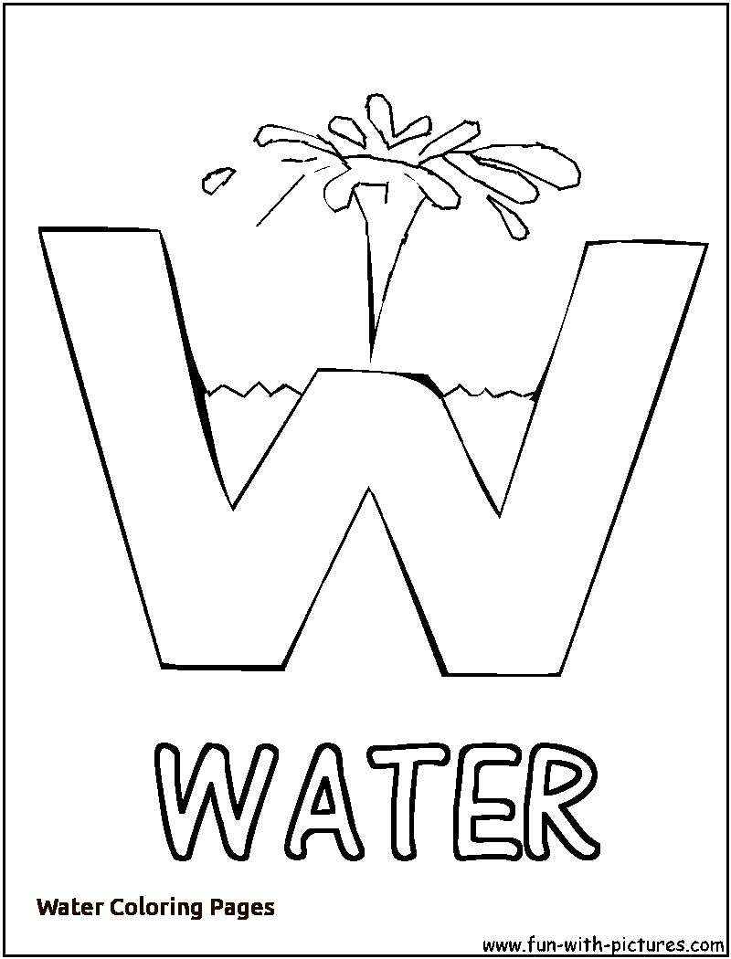 water drop coloring page - Ideal.vistalist.co