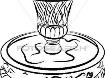 400x300 Water Fountain Drawing Related Keywords Suggestions, Water