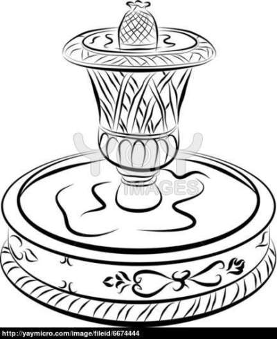 400x490 44 Water Fountain Sketches, Beauty Of Water Commercial Water