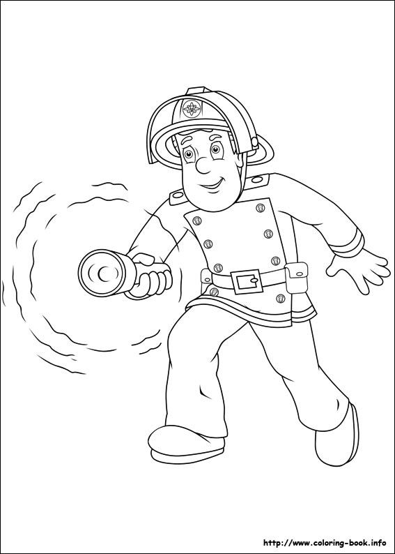 567x794 Fireman Sam Coloring Picture Fireman Party Fireman