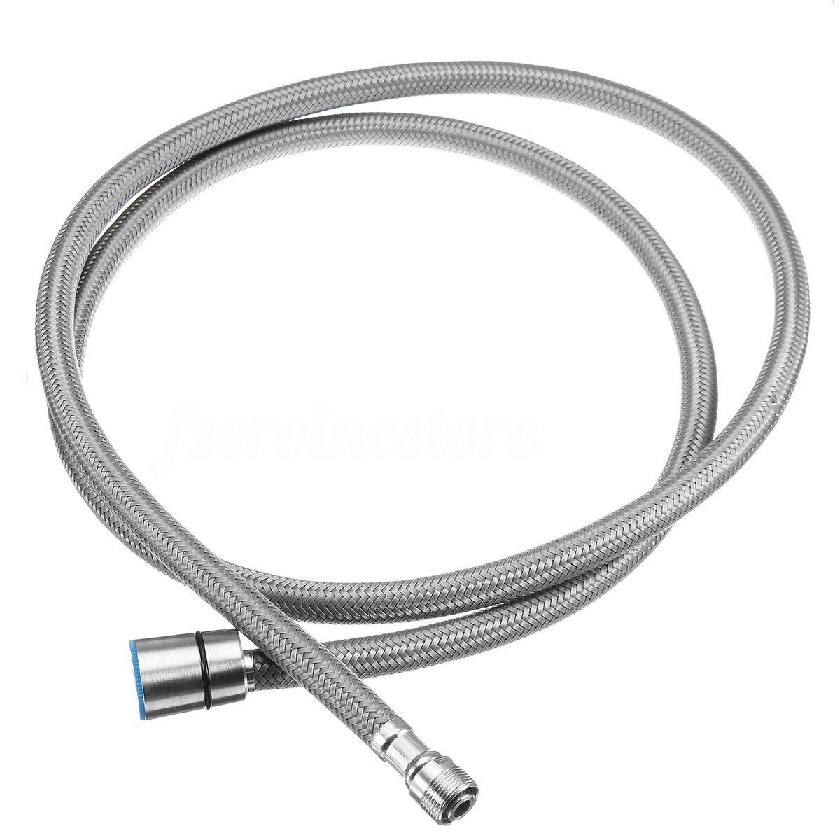 1200x1200 Tapcet Nylon Water Hose Taps Kitchen Pull Out Mixer Faucet 304