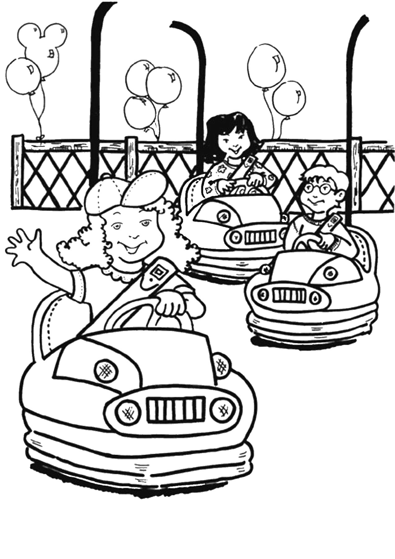 Water park drawing at free for personal for Water themed coloring pages