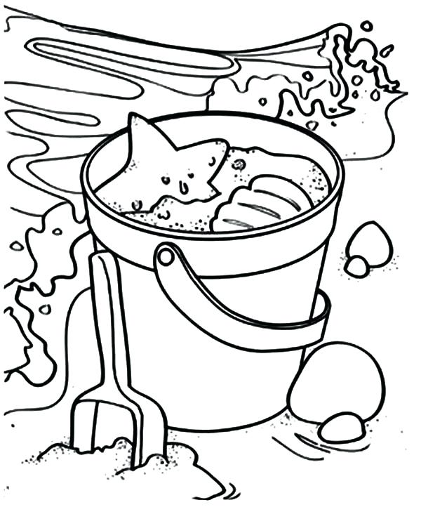 600x722 Water Park Coloring Pages Colouring Uses Of Beach