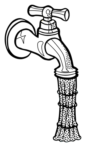 293x500 Water Pipe Public Domain Vectors