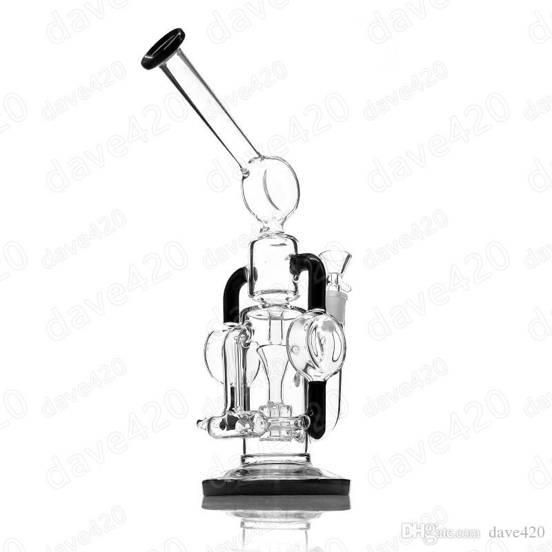 800x800 2018 Recycler Glass Water Pipe 14.4 Joint Glass Bong Smoking Water
