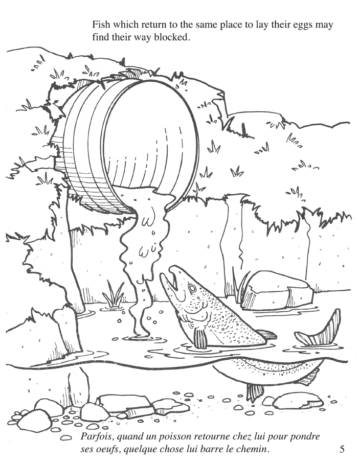 pullution coloring pages - photo#2