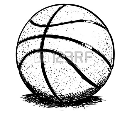 Water Polo Ball Drawing