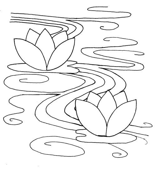 Water Ripples Drawing