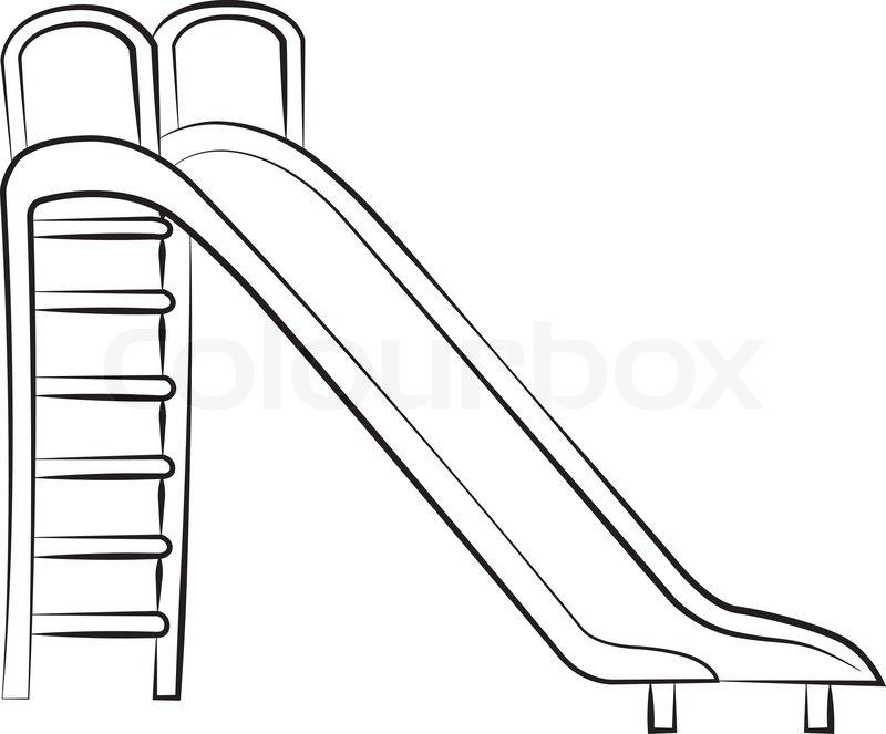 800x663 Slide Stock Vector Colourbox