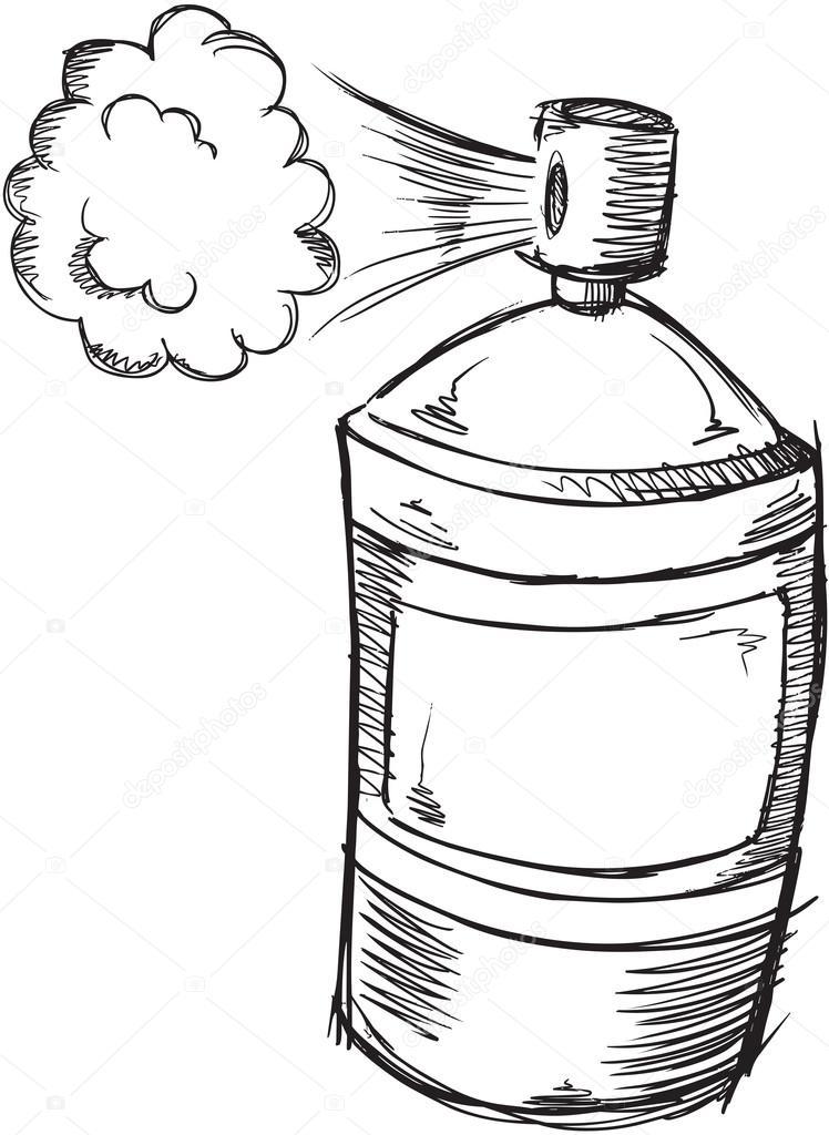 water spray drawing at getdrawings com