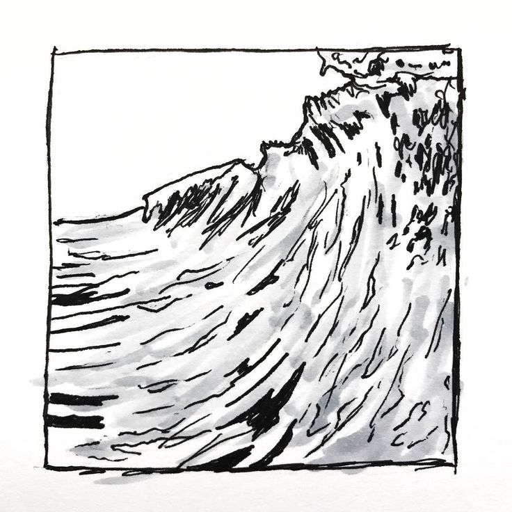 Water Wave Drawing