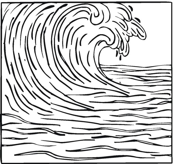 wave coloring sheet rome fontanacountryinn Best Salesman Resume water wave drawing at getdrawings free for personal use water