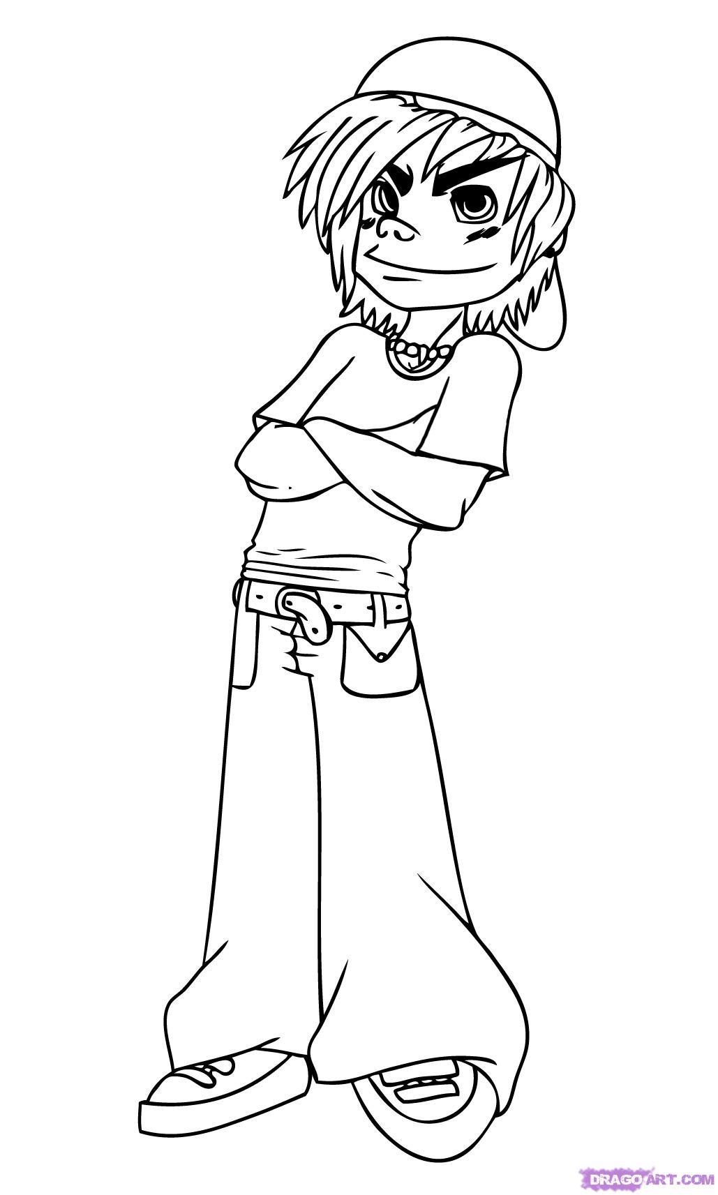 1029x1713 Cartoon Drawing Of A Boy How To Draw A Cartoon Kid, Step By Step