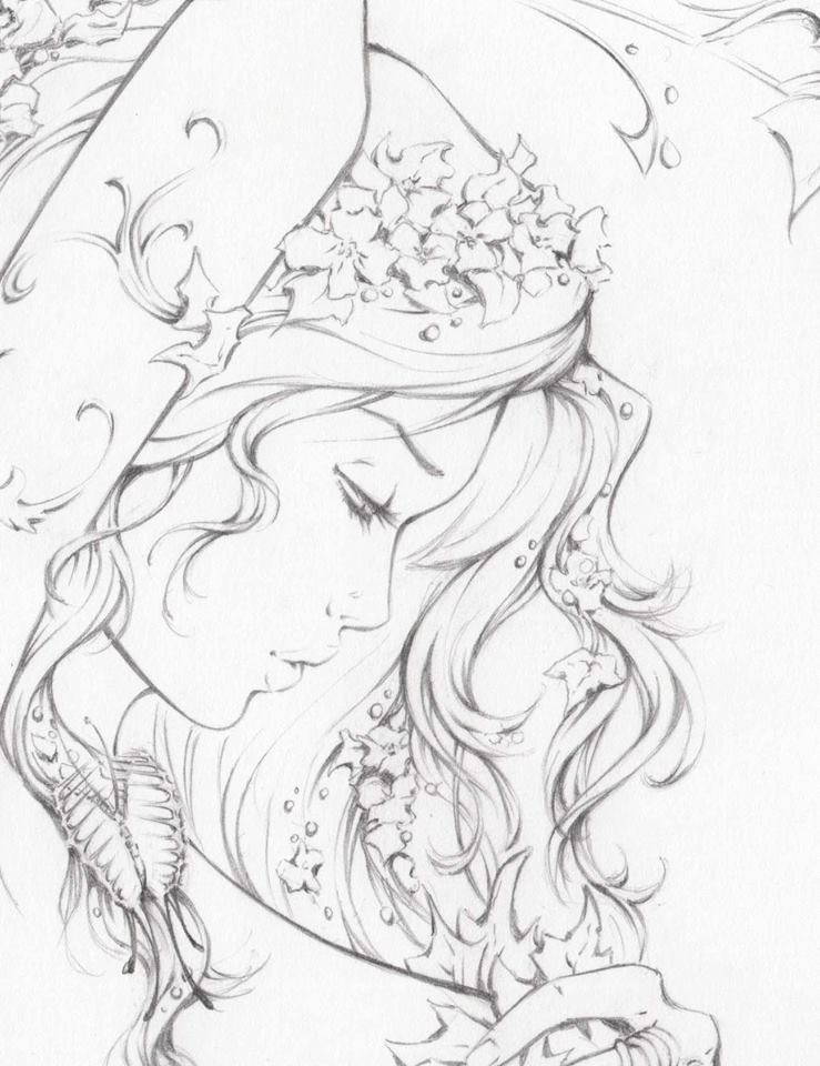 739x960 Poison Ivy Art Poison Ivy, Doodles And Sketches
