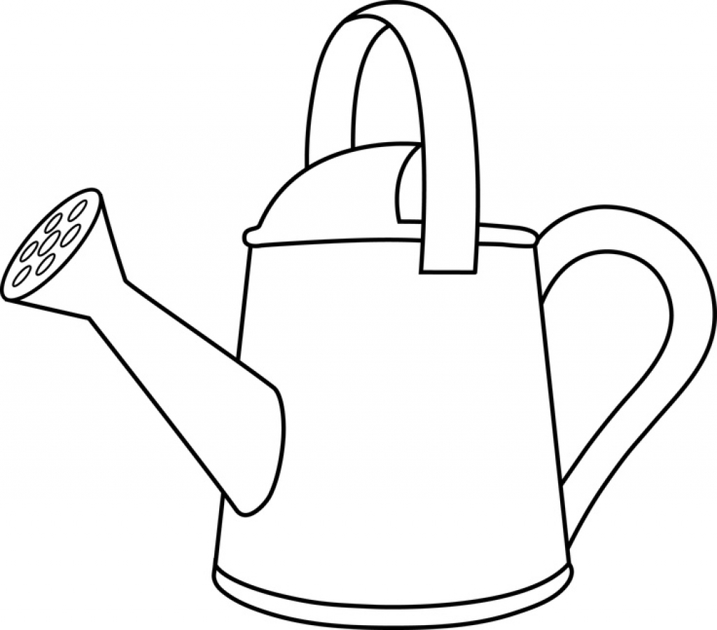 Watering Can Drawing at GetDrawings.com | Free for personal use ...