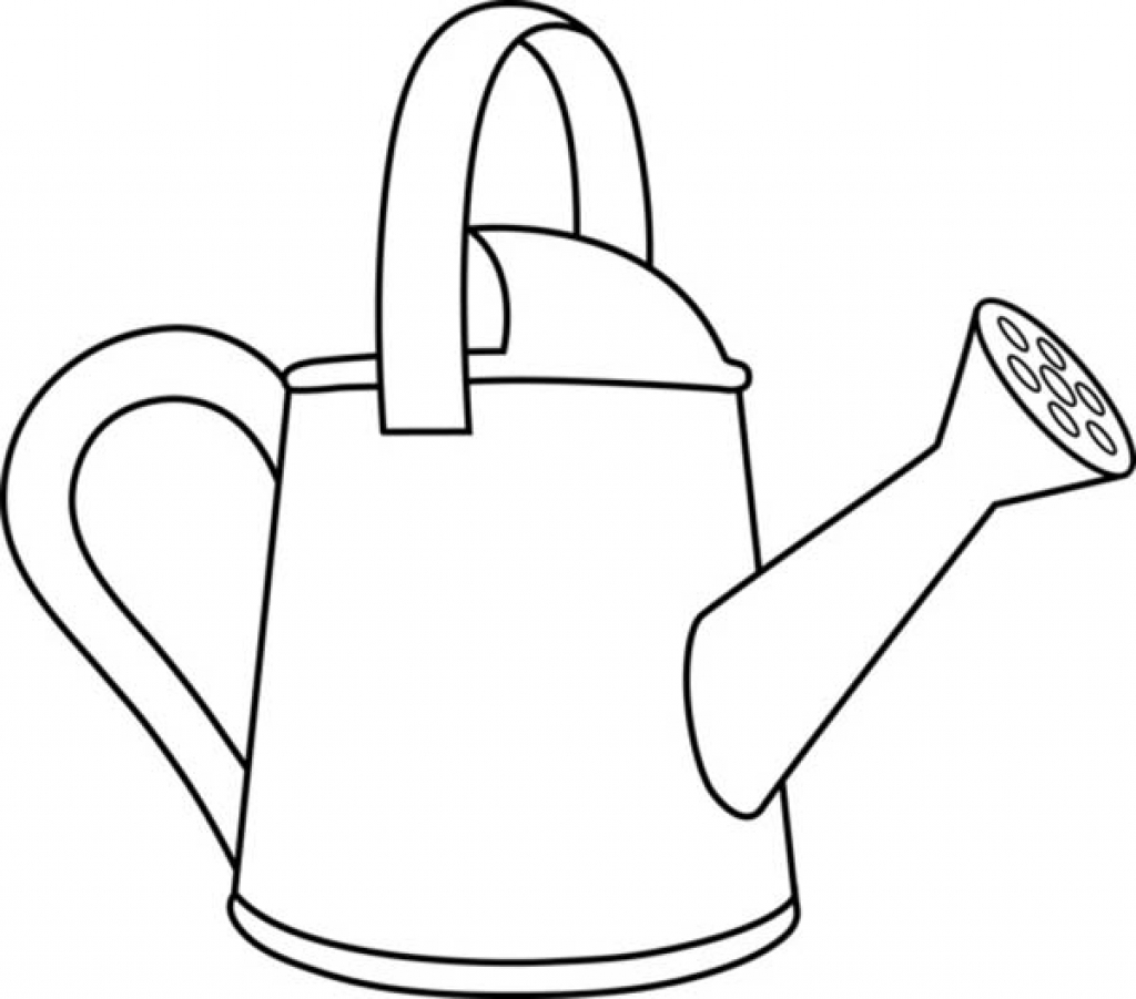 watering can drawing at getdrawings com free for personal use rh getdrawings com