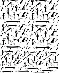 247x300 Dogs 10108664 ~ ~ Ceramic Decal Glass Decal ~lead Free Amp Food