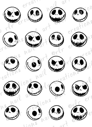 360x495 20 Assorted Jack Skellington Nightmare Before Christmas Water