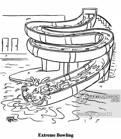 400x458 Water Slides Cartoons And Comics