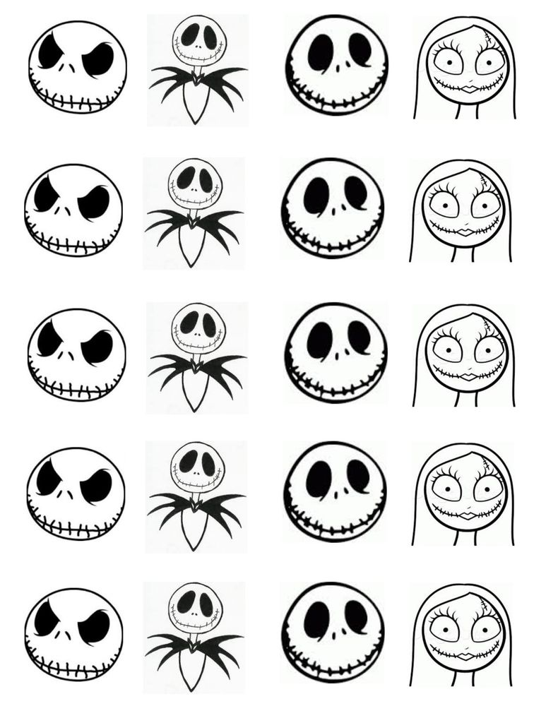 773x1000 20 Waterslide Nightmare Before Christmas Jack Skellington Face