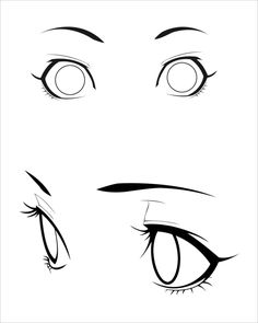 236x295 Anime Eyes Stock