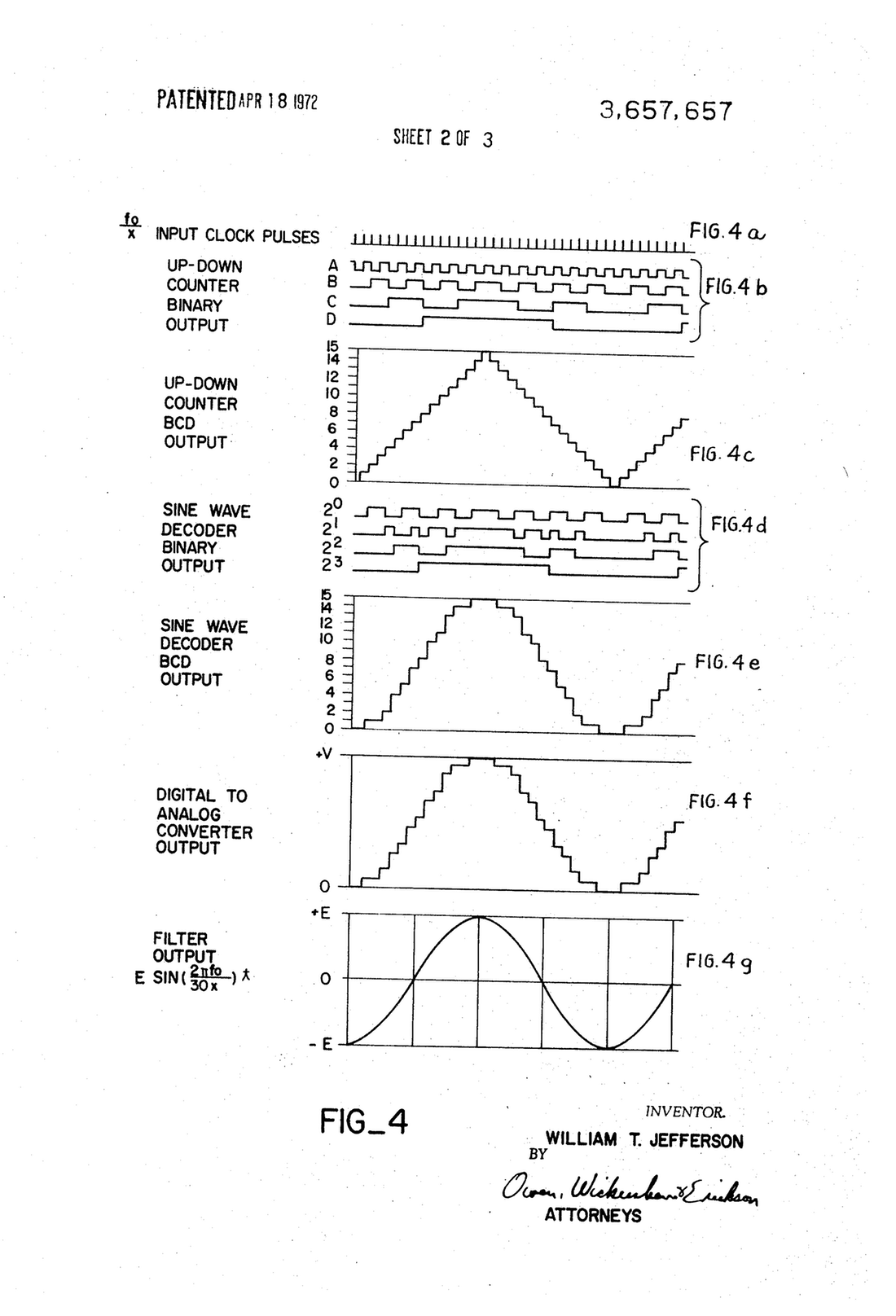 1100x1616 Patent Us5196776 Waveform Generator For A Resolver Google Drawing