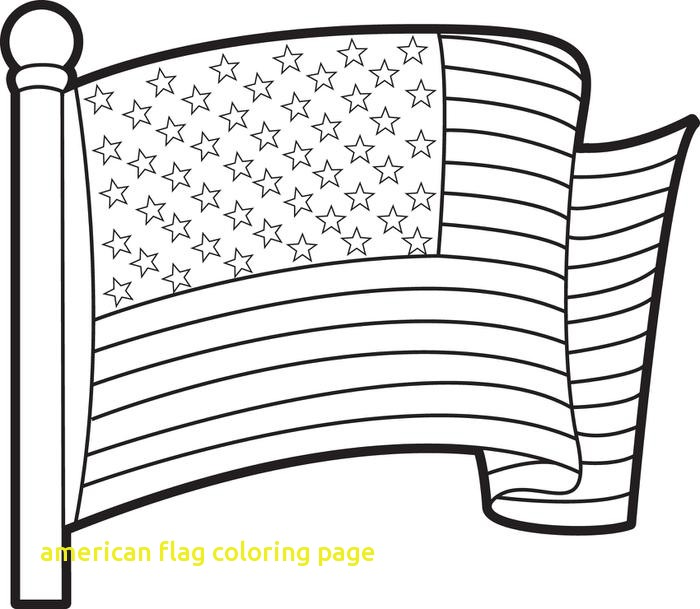 700x609 American Flag Coloring Page With United States Flag Colouring Page