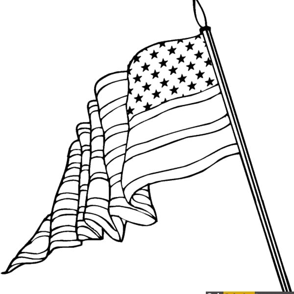 600x600 Like @only Coloring Pages American Flag Coloring Page